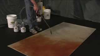 Concrete Stains - Eco Friendly Waterbased Penetrating Eco-Stain