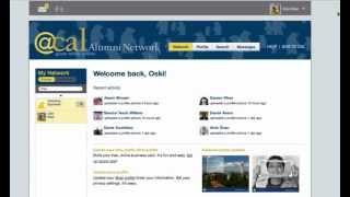 Networking in @cal, UC Berkeley's alumni network