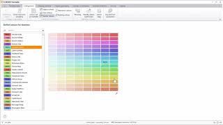 YouTube video - Nastavení barev objektu