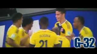James Rodríguez - Sube la mano y grita gol