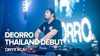 DEORRO Thailand Debut at ONYX RCA