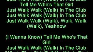 Who's That Girl - Guy Sebastian ft. Eve [LYRICS ON SCREEN] - YouTube.flv