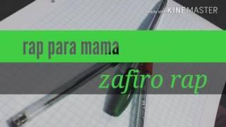 Quisiera volver Hacer Niño - Zafiro Rap | rap para dedicar a mamá