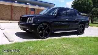 Escalade EXT on 26 inch rims - 2 18 inch subwoofers