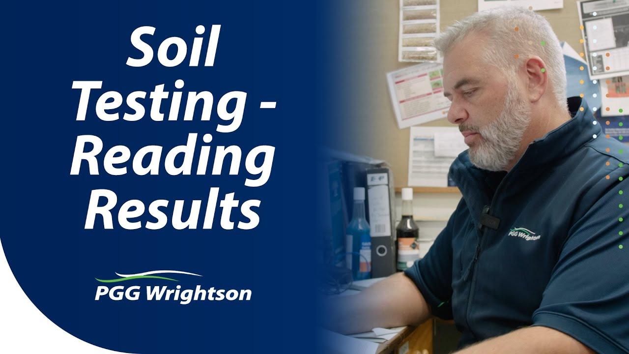 Soil Testing - Reading Results | PGG Wrightson Tech Tips