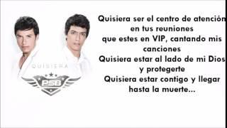 Quisiera - Pasabordo (Letra)