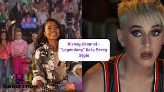 Katy Perry featuring Nicki Minaj in Disney Channel's Legendary fan made Katy Perry style video