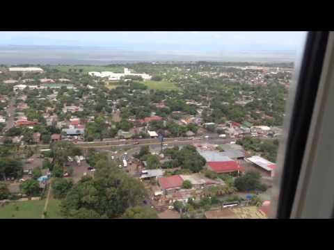 Landing in Managua, Nicaragua AA969