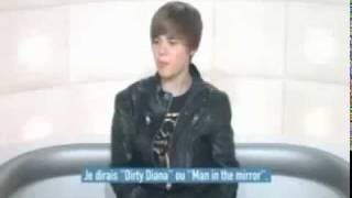 Justin Bieber - French Interview (Funny)