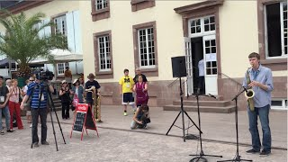 """BEATBoX SAX - """"What is Love"""" (Haddaway cover) - SaxOpen - Strasbourg, France"""