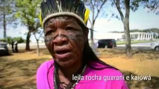 Guarani e Kaiowá lançam campanha contra revisão de demarcações