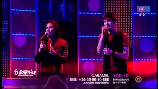Caramel - Vízió (Vertigo) HD // Eurovision 2012 Final (2012.02.11)