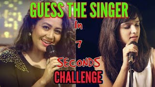 Guess Singer's Name In 7 Sec. Challenge ( Bollywood ) | Challenge Center