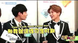 Lu Han and Zhang Yi Xing speaking chinese!