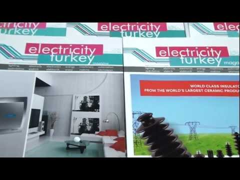 ENG| electricityturkey | turkish electricity magazine | turkey electricity exhibition