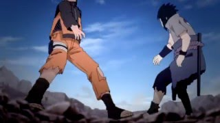 Naruto vs Sasuke another world AMV