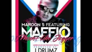 Maroon 5 feat. Maffio - Moves Like Jagger (Merengue Electronico Remix) prod by J Drumz