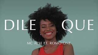 """""""Dile Que"""" - Mc Aese (Ft. Romo One) MINT"""
