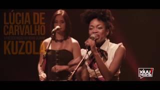 """Lucia de Carvalho - apresentação do novo album """"Kuzola"""" em Portugal, maio 2017"""