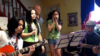 TOM JONES- I WHO HAVE NOTHING COVER BY 12 AND 15 YEAR OLD