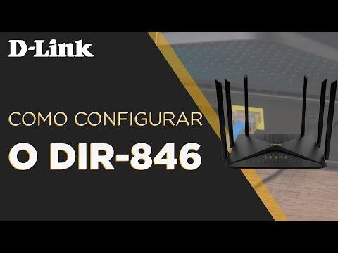 Como configurar o DIR-846