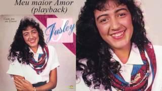 Jusley - Meu Maior Amor - Playback (Cd Canto Pra Seu Louvor) 1990