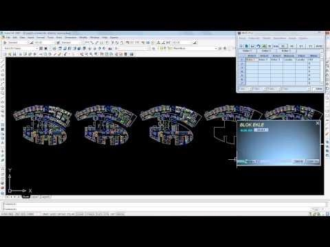 Match Mekanik Elektrik Metraj Programı Blok Ekleme
