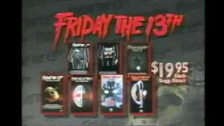 Friday the 13th VHS Promo