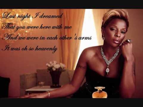 A Dream de Mary J Blige Letra y Video