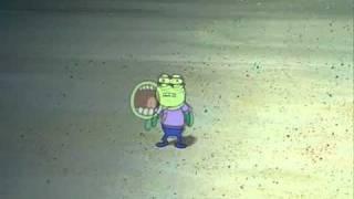 Spongebob Hooplah! scene Backwards
