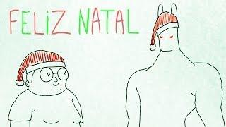 Desenho Animado Historia em Portugues ☆ FELIZ NATAL CUEIO !!!!!!