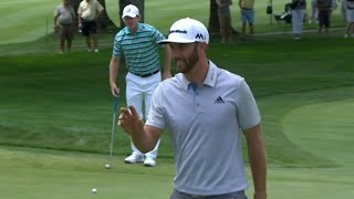 Dustin Johnson is on a roll with this 45-footer at Bridgestone