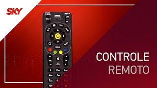 Como usar o controle remoto SKY e seus botões | Equipamento Zapper