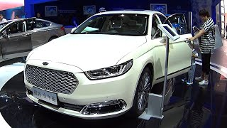 This is the 2016, 2017 Ford Taurus biggest Affordable Sedan for the Chinese auto market