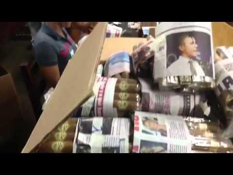 Nicaragua Trip Part 38:  Obama on a Cigar Bundle