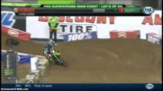 James Stewart Seattle Supercross 2014 Quad