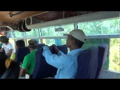 Riding in Nepali Bus near Parshadhap, Nepal