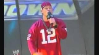 WWE John Cena Raps On FBI (2003)
