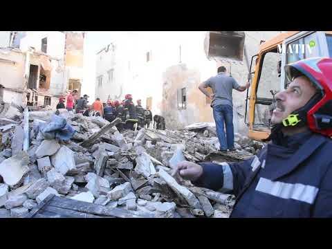 Video : Effondrement de deux maisons menaçant ruine à Casablanca