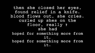 To Write Love On Her Arms - Stop The Bleeding Lyrics