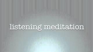 Sensible Meditation listening to bells ring