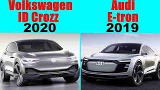 Volkswagen ID Crozz vs Audi E-tron Sportback | Concept Cars 2019-2020