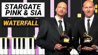 Stargate - Waterfall feat. Pink & Sia - Piano Tutorial