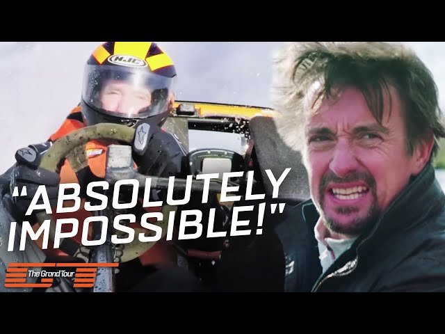 The Grand Tour: Starting the Water Speed Record Attempt