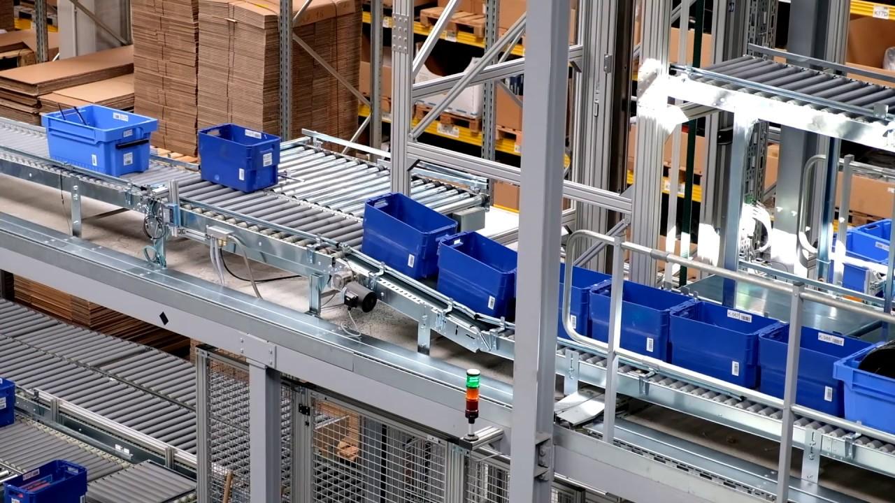 Verpackungsanlage für Vespa-Zubehör und Tuning-Teile