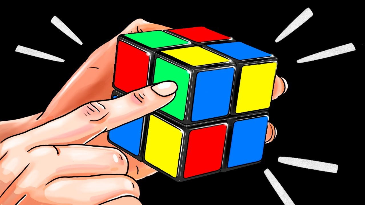 How to Solve a 2×2 Rubik's Cube in a Minute | The Quickest Tutorial