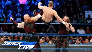 Bludgeon Brothers demolish former ECW Superstar: SmackDown LIVE, Dec. 12, 2017