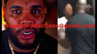 Kevin Gates FINALLY confronted by NBA Youngboy,gates punches nba youngboy!