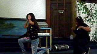 "Double L preforming ""Shackles""-Mary Mary"
