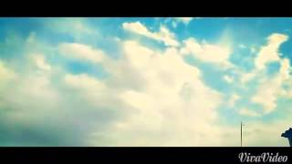 Beautiful clouds and a short relaxing music: Golpayegan city